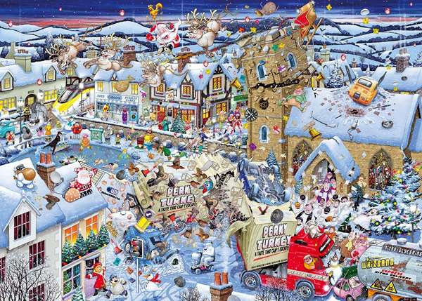i love christmas jigsaw puzzle