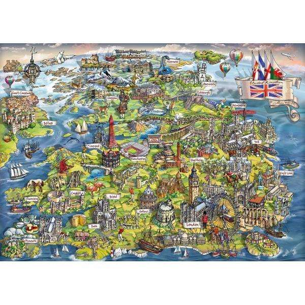 Beautiful Britain - 1000pc jigsaw puzzle
