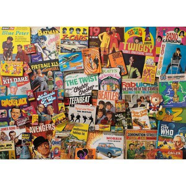 Spirit of the 60s - 1000 piece jigsaw puzzle