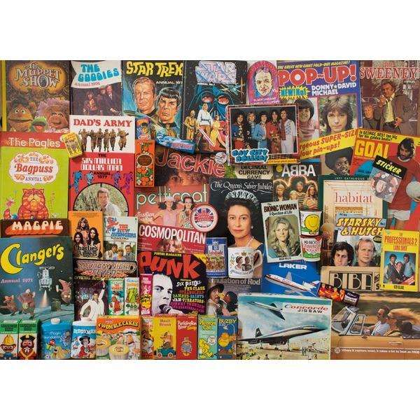 Spirit of the 70s - 1000pc jigsaw puzzle