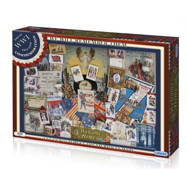 We Will Remember Them - 1000pc jigsaw puzzle