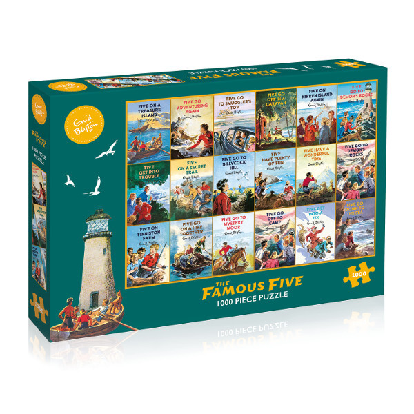 The Famous Five - 1000pc jigsaw puzzle