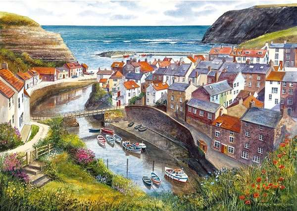 Staithes jigsaw puzzle