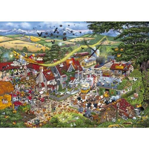 I Love The Farmyard jigsaw puzzle