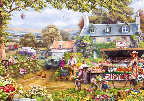 Pick Your Own - 2000 Piece jigsaw puzzle