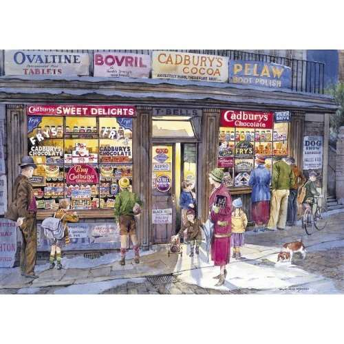 The Corner Shop jigsaw puzzle