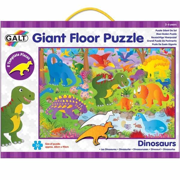 Dinosaurs - Giant Floor Puzzle - 30 piece jigsaw puzzle