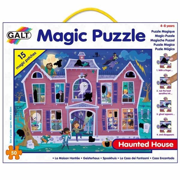 Haunted House - Magic Puzzle - 50pc jigsaw puzzle