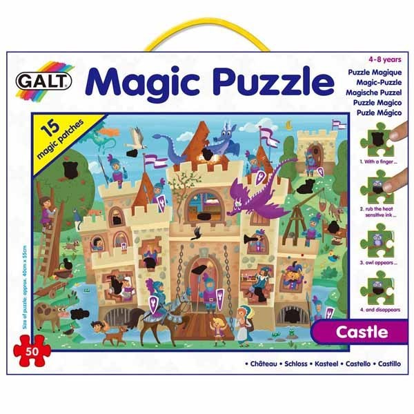 Castle - Magic Puzzle - 50pc jigsaw puzzle