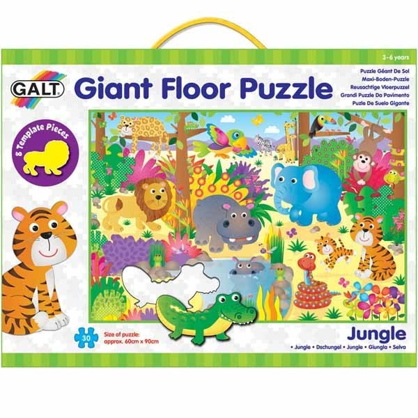 Jungle - Giant Floor Puzzle - 30pc jigsaw puzzle