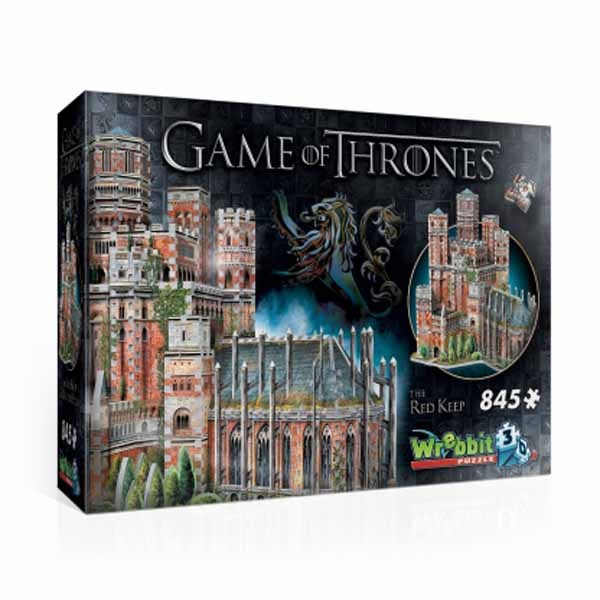 Game of Thrones - The Red Keep - 845pc 3D jigsaw puzzle