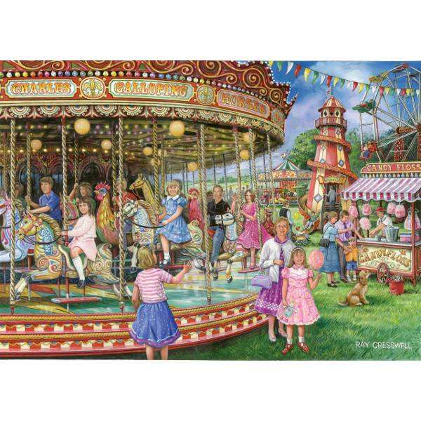 Gallopers jigsaw puzzle