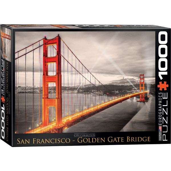 Golden Gate Bridge - San Francisco - 1000pc jigsaw puzzle