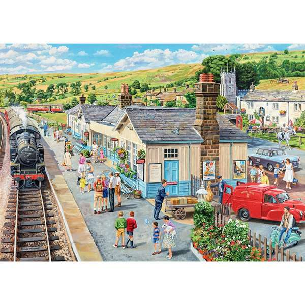Country Town Extra Large Jigsaw Puzzle From Jigsaw