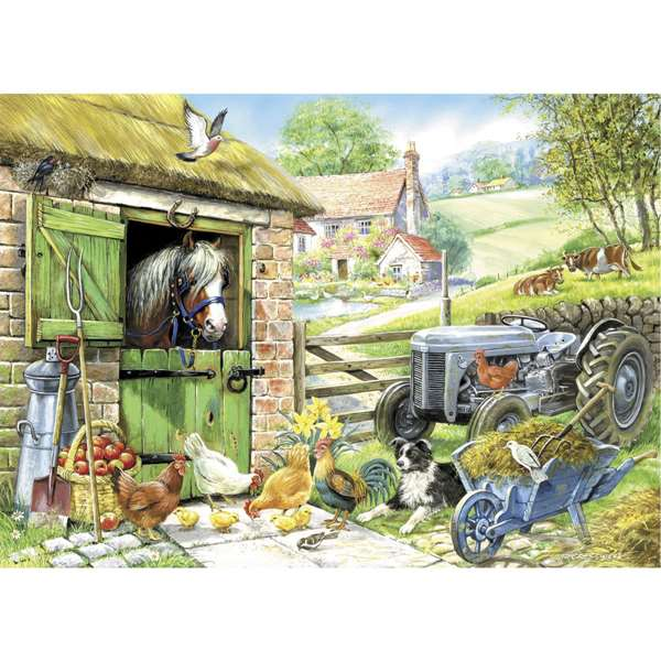 Down On The Farm - Extra Large jigsaw puzzle