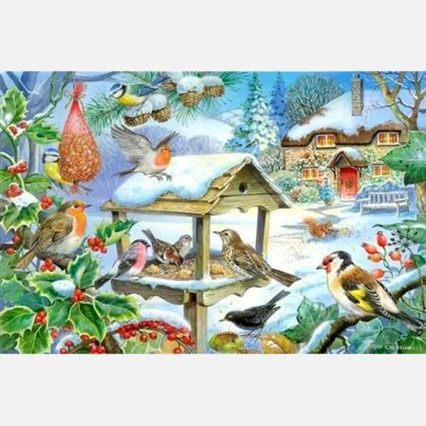 Feed The Birds - Extra Large jigsaw puzzle