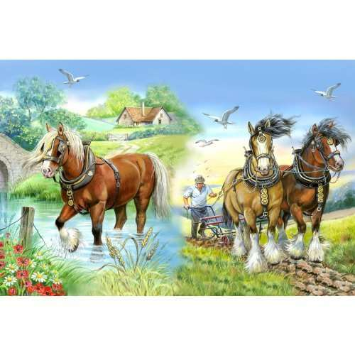 Gentle Giants - Extra Large jigsaw puzzle