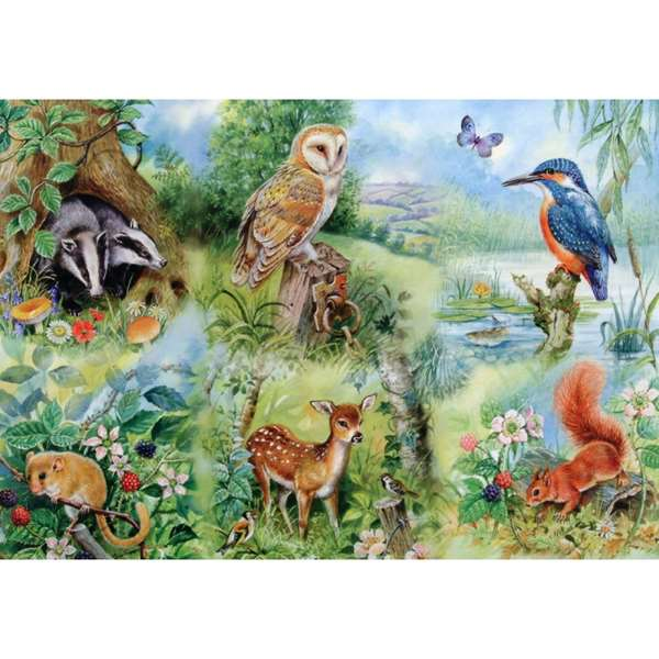 Nature Study - Extra Large jigsaw puzzle