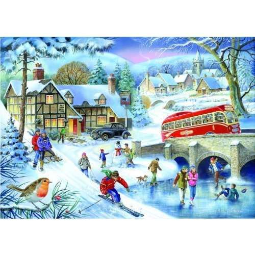 Winter Games jigsaw puzzle