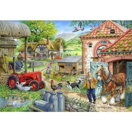 Manor Farm jigsaw puzzle