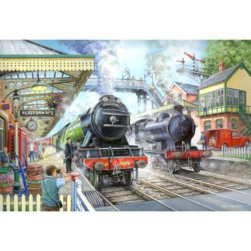 Train Now Standing jigsaw puzzle