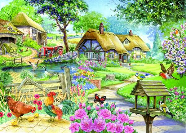 Country Living - Extra Large jigsaw puzzle