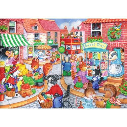 In The Town - Kidz Jigs 80 Piece jigsaw puzzle