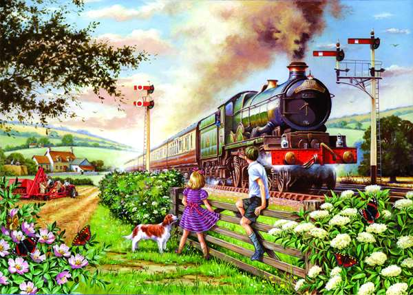 Railway Children - Extra Large jigsaw puzzle