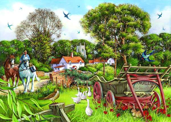 Strolling Along - Extra Large jigsaw puzzle