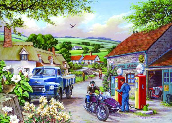 Topping Up - Extra Large jigsaw puzzle