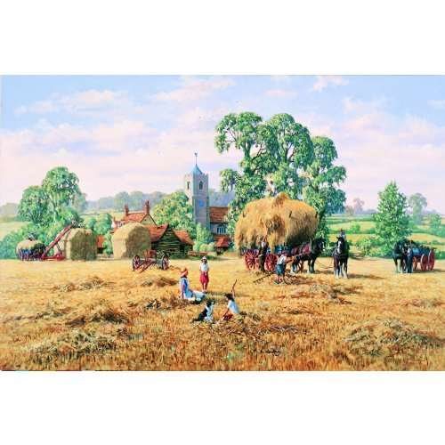 Haymaking - 500pc jigsaw puzzle