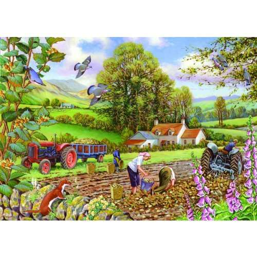 Potato Picking jigsaw puzzle