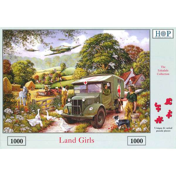 Land Girls jigsaw puzzle