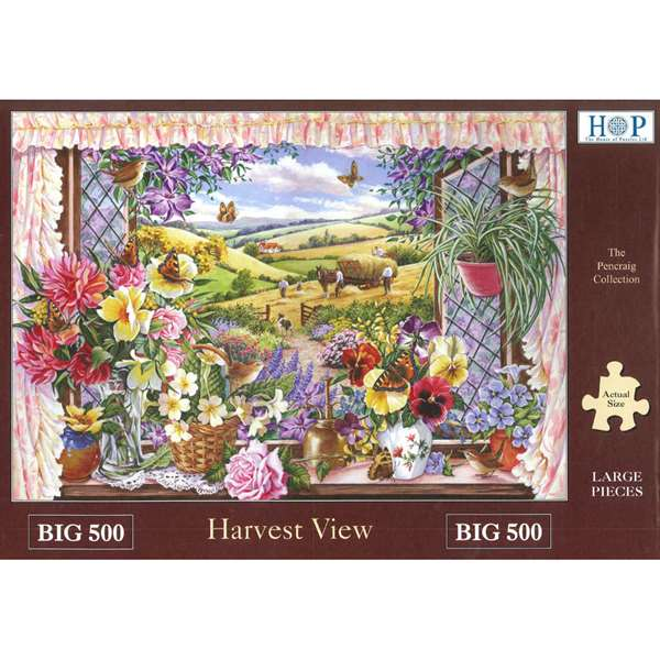 Harvest View - Extra Large jigsaw puzzle