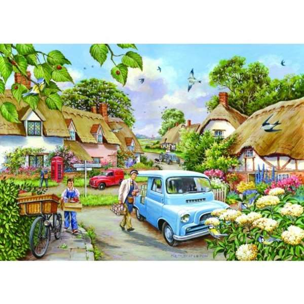 Morning Fresh - Extra Large jigsaw puzzle