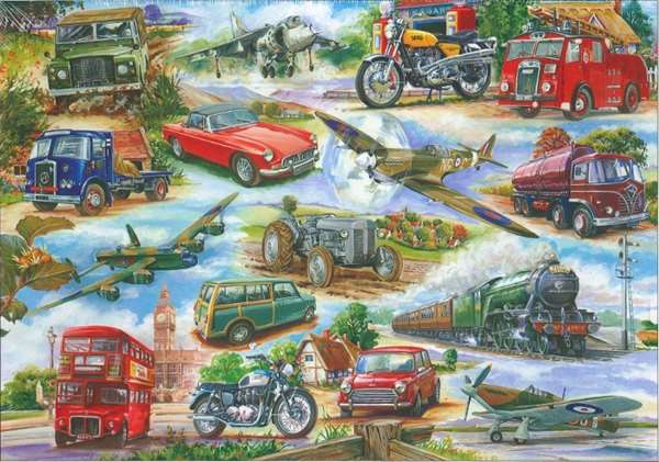 Truly Classic - Extra Large jigsaw puzzle