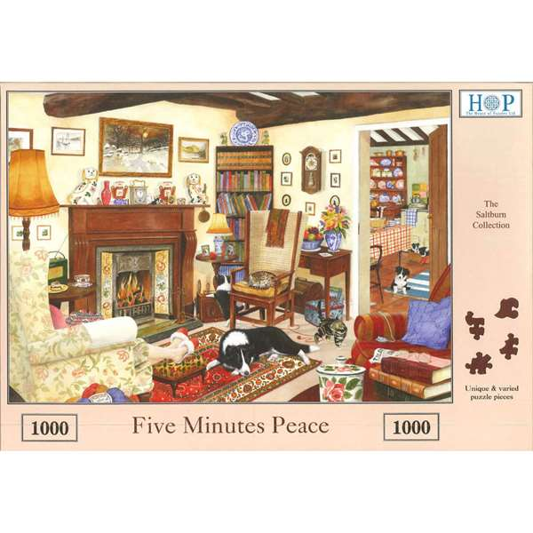 Five Minutes Peace jigsaw puzzle