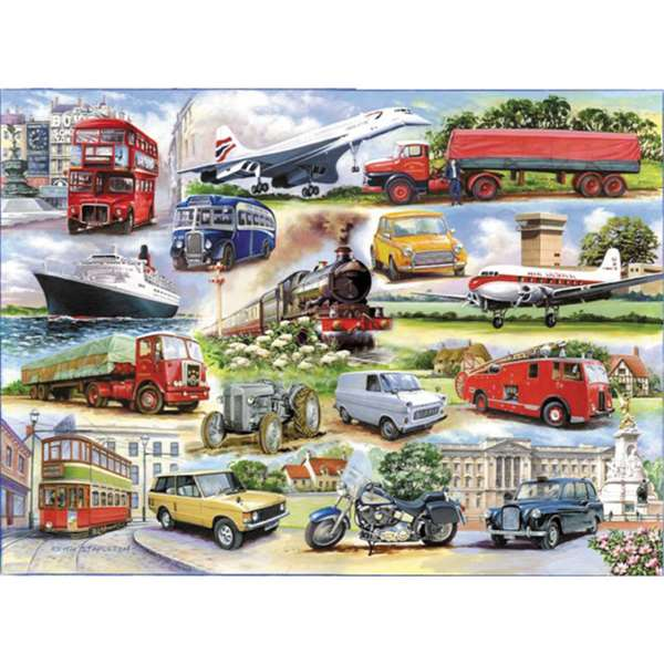 Golden Oldies jigsaw puzzle