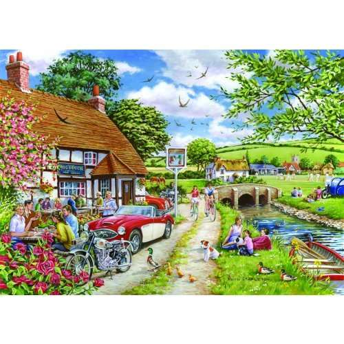 Sunday Lunch jigsaw puzzle