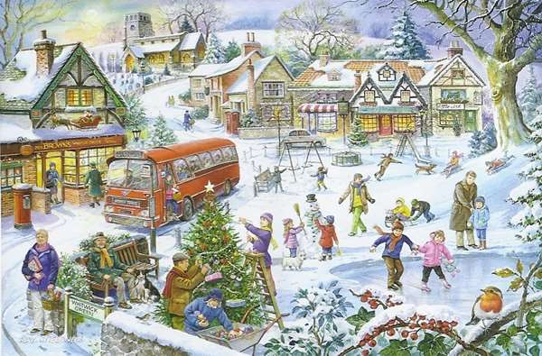 Winter Green jigsaw puzzle