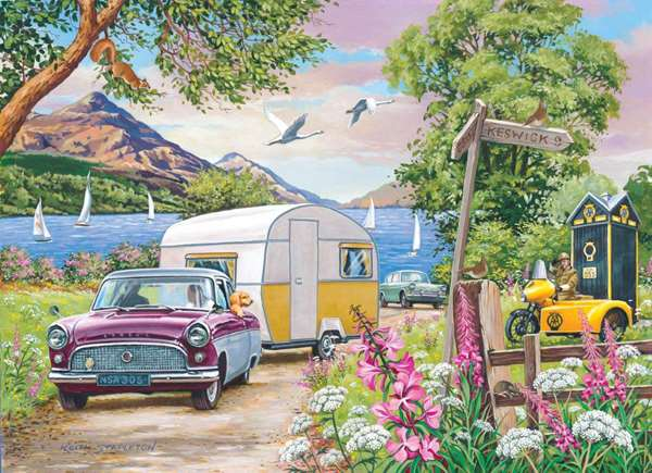 Summer Holiday - Extra Large Jigsaw Puzzle from Jigsaw