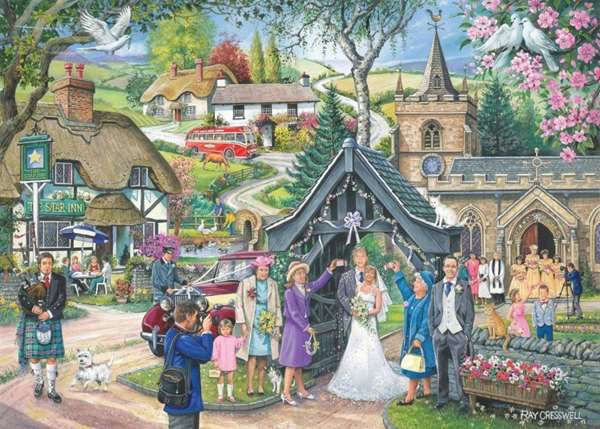 Wedding Day - Find the Difference No 4 jigsaw puzzle