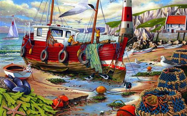 High and Dry - Extra Large jigsaw puzzle