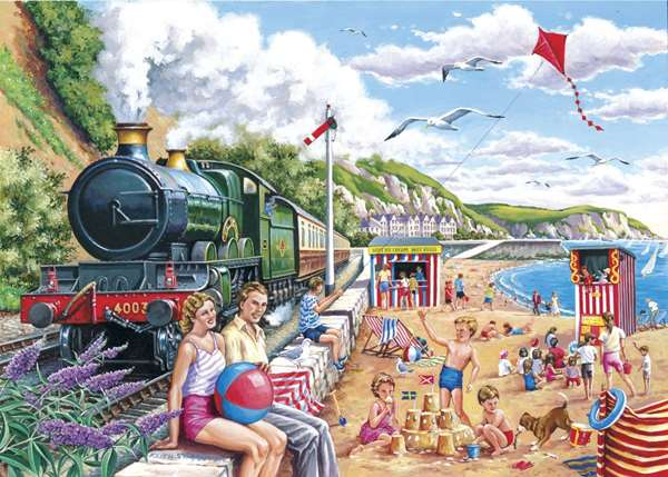 seaside special extra large jigsaw puzzle from jigsaw puzzles