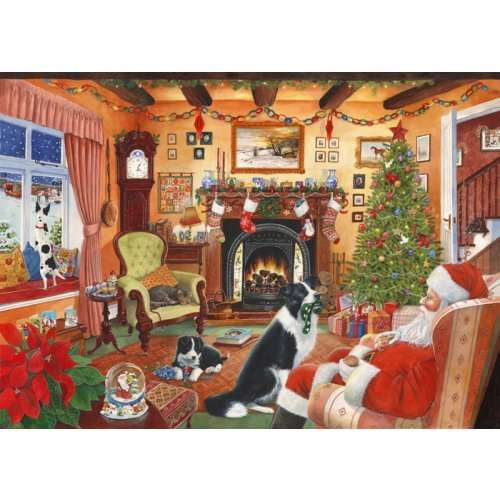 Me Too Santa - 2012 - 1000 Piece jigsaw puzzle
