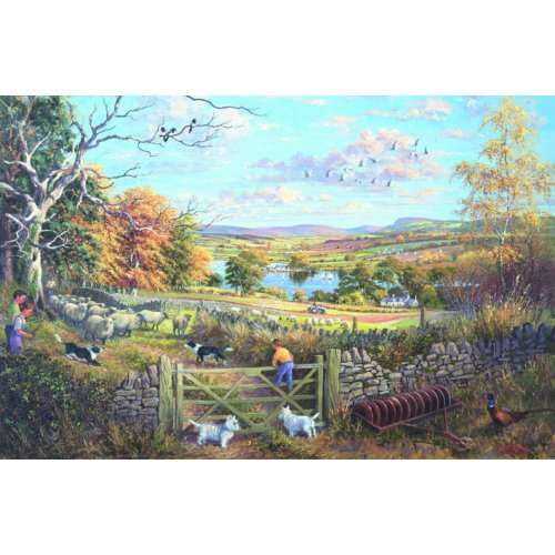 Counting Sheep jigsaw puzzle