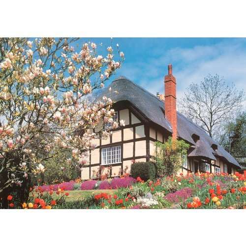 Today April Flowers: 500pc Jigsaw Puzzle From Jigsaw Puzzles