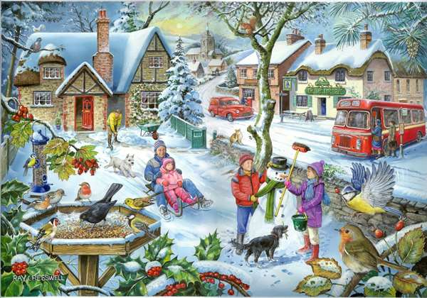 In The Snow - Find The Difference No 3 jigsaw puzzle