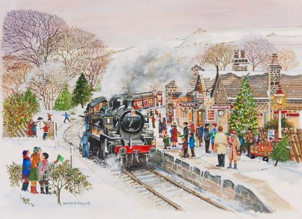 Steaming Along - Extra Large jigsaw puzzle
