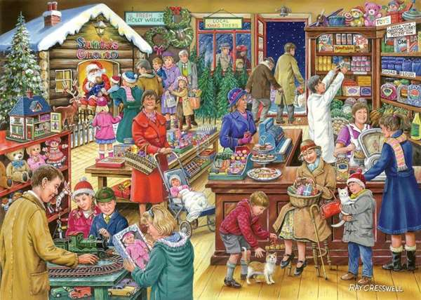 Christmas Treats Jigsaw Puzzle from Jigsaw Puzzles Direct - Order ...